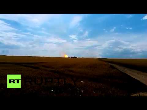Ukraine: EXCLUSIVE Explosion rips apart gas pipeline supplying Europe