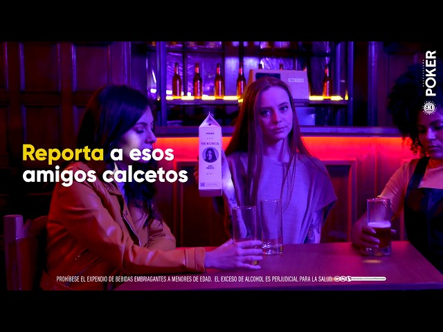 ¿Amiga faltona en el Karaoke?  │ Cerveza Poker