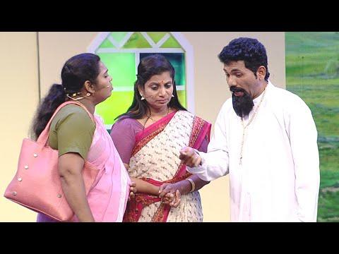 #ThakarppanComedy I The priest and parishioners I Mazhavil Manorama