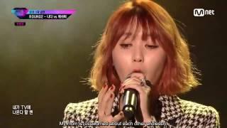 (ENG SUB) [Unpretty Rapstar 3 Ep. 8] Ash-B feat. Son Seungyeon - She (그녀) @Round2 Nada vs Ash-B