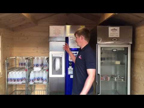 A quick guide on how to use are RAW MILK VENDING MACHINE on the family farm!