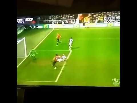 Falcao miss vs QPR