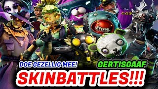 [GIG CLAN] SKINBATTLES WITH VIEWERS!!! [1100 wins] Fortnite Battle Royale LiveStream English NL