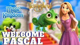 WELCOME PASCAL TANGLED Disney Mom's Magic Kingdoms Gameplay