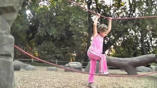 Rocks & Ropes:  Rope bridges