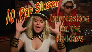 10 Pop Singer Impressions for the Holidays