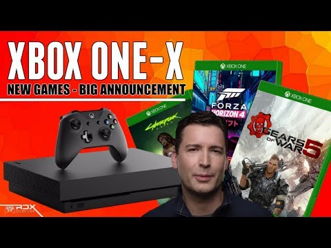 GAME CHANGING Xbox One X News! E3 2018 News, Gears Dev DONE? March Games With Gold,  PS4 News :RDX