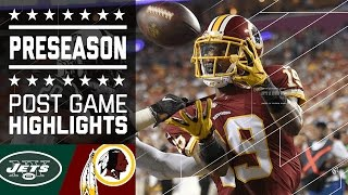 Jets vs. Redskins | Game Highlights | NFL