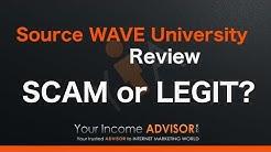 Source Wave University Review - Scam or Legit?