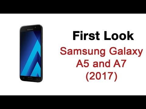 First Look: Samsung Galaxy A series 2017