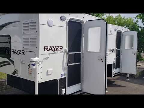 Rayzr Truck Campers @ Miller Rv Sales Inc  - YouTube