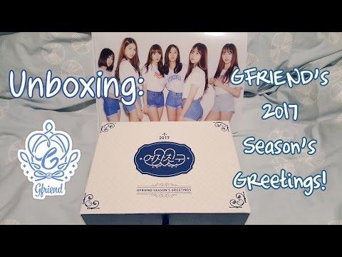 Unboxing GFRIEND 2017 Season's Greetings!