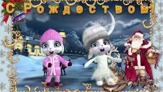Зайка ZOOBE 'Музыкальное поздравление с Рождеством!'
