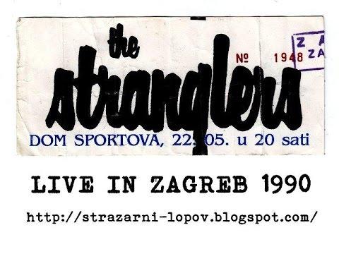 THE STRANGLERS - Zagreb 1990