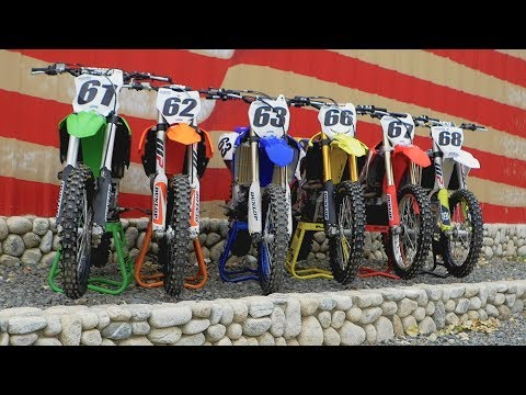 Motocross Action's 2018 450 Shootout