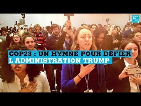 COP23 : un hymne anticharbon pour défier l'administration Trump