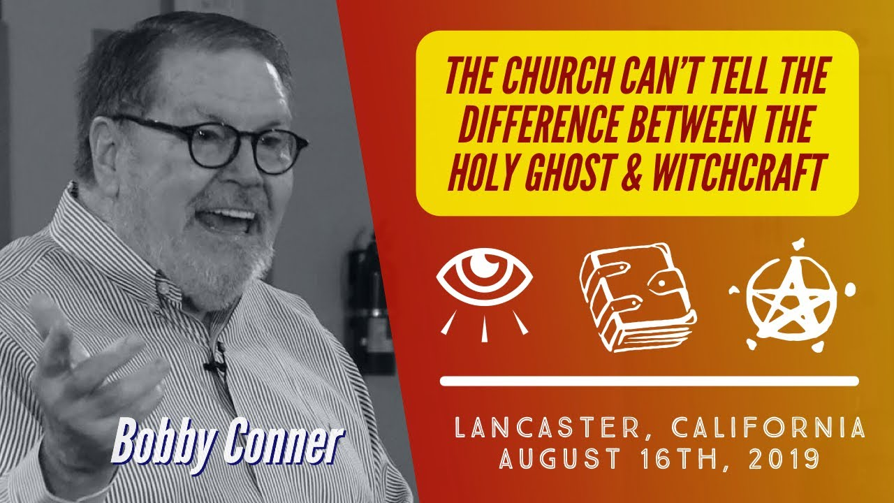 THE CHURCH CAN'T TELL THE DIFFERENCE BETWEEN THE HOLY GHOST & WITCHCRAFT