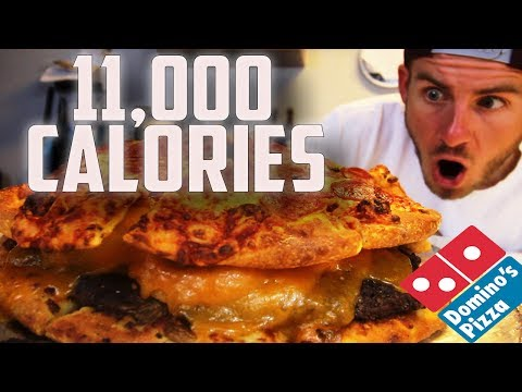 "THE ULTIMATE DOMINO'S ""PIZZA-BURGER"" 