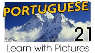 Learn Brazilian Portuguese with Pictures -- Describing the World Around You