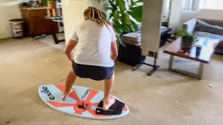 Quarantine Carpet Skimboarding!