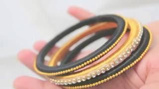 How to make Silk Thread Bangles !