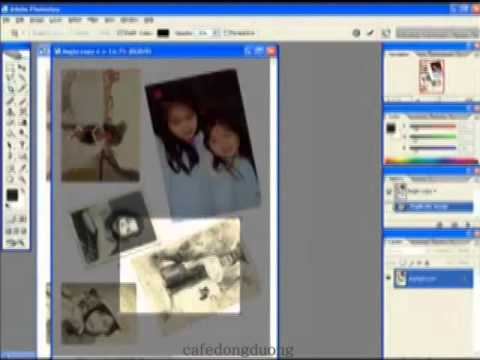 Photoshop CS2 - Phan 22 - Bai 3 - Cat cup loat anh Scan bang 1 lenh