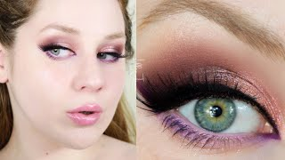 Makeup Revolution Chilled Purple Pop Spring Makeup Tutorial 2021 | Lillee Jean
