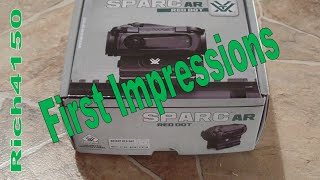 Sparc AR Unboxing & First Impressions