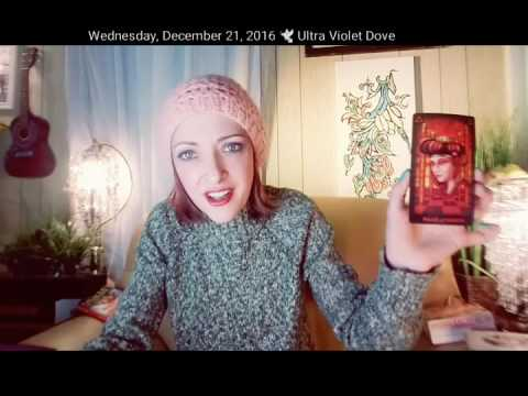 21 December 2016 WEDNESDAY👟 A MESSAGE OF 💖 TO HELP UNTANGLE THE KNOTS📬 Daily psychic tarot oracle