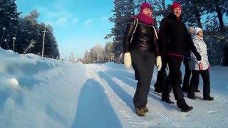 Зимняя сказка на озере Сингуль (Ялуторовск).