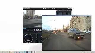 видео Видеорегистратор blacksys cl-100b 2ch gps obd2