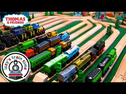 Thomas and Friends RAIL YARD   Fun Toy Trains for Kids and Children   Thomas Train with Brio