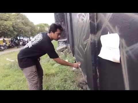 WADEZIG!TV : JUST WRITING MY NAME YOGYAKARTA - INDONESIA 2013