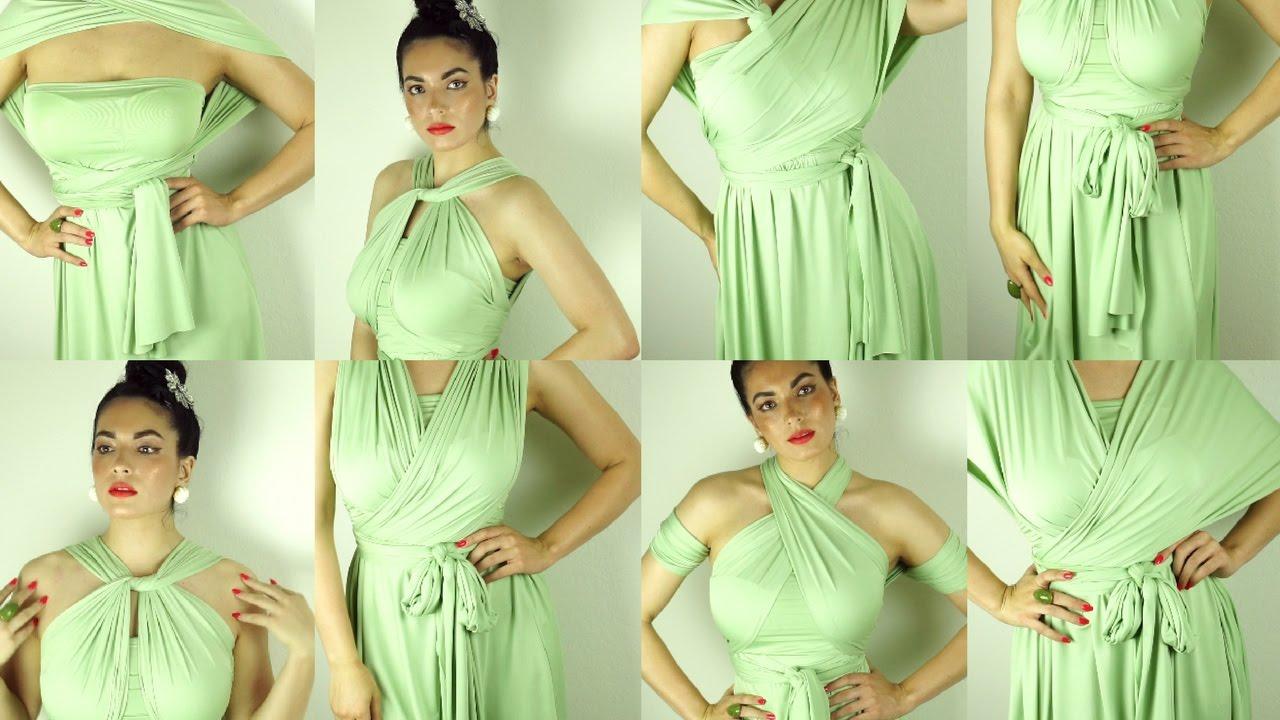 Sage Green Infinity Dress Dress And Charm Youtube