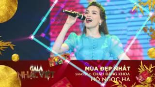 Mùa Đẹp Nhất - Hồ Ngọc Hà   Audio Gala Nhạc Việt   Nhạc xuân hay mới nhất