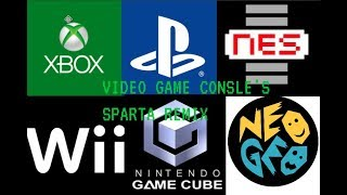 video game consles have a sparta remix feat: the video colle...