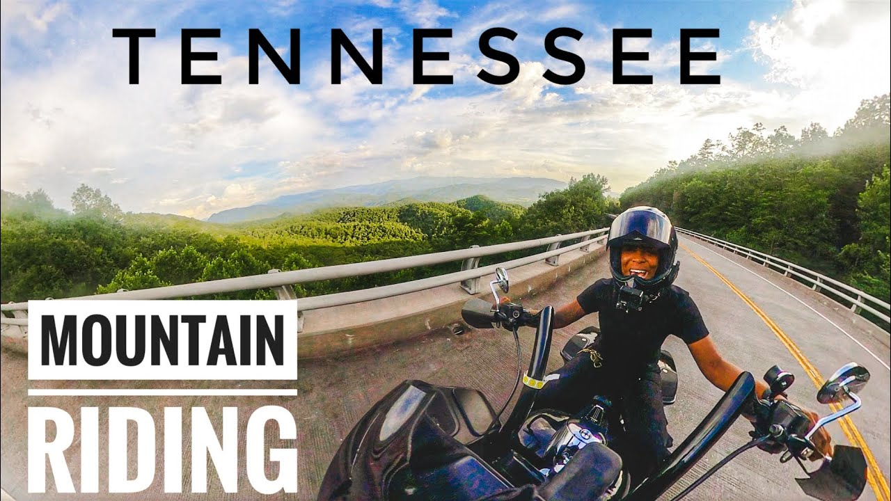 Girl Riding Bagger Through Mountains in Tennessee! | Road Glide Vlogs