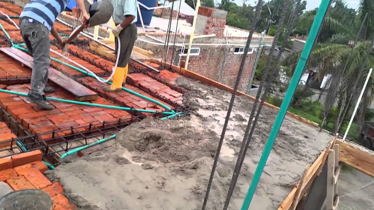 Contruccion de terrazas en ladrillo youtube Construir una pileta de ladrillos