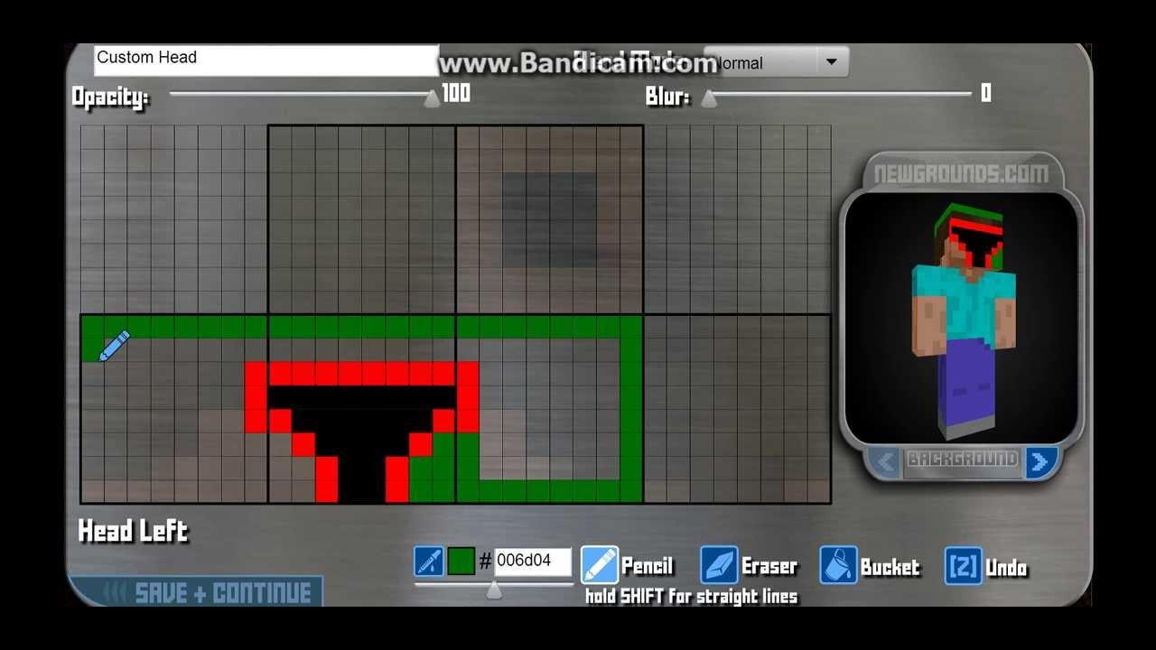 Minecraft skin Boba Fett Part 1 by Forest Gum