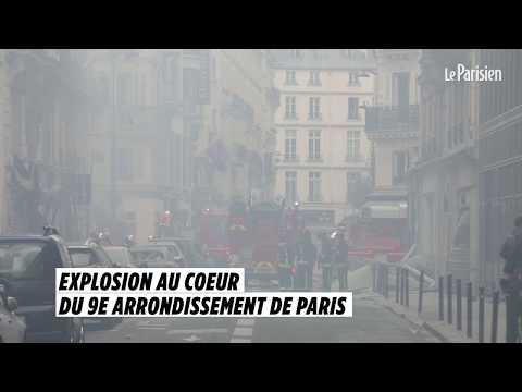 Explosion au cœur du 9e arrondissement