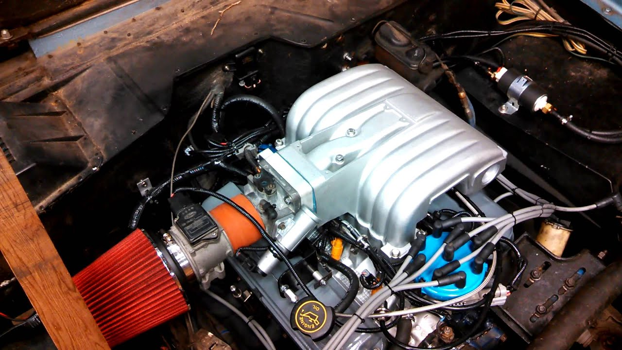 1973 Ford Bronco 5 0 Efi Conversion First Startup