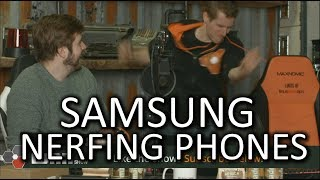 Samsung is NERFING phones! - WAN Show Mar. 2 2018