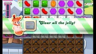 Candy Crush Saga Level 1156 walkthrough (no boosters)