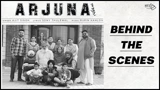 Arjuna (Behind The Scenes ) - Ajit Singh | Rupin Kahlon | Sony Thulewal | Mp4 Music