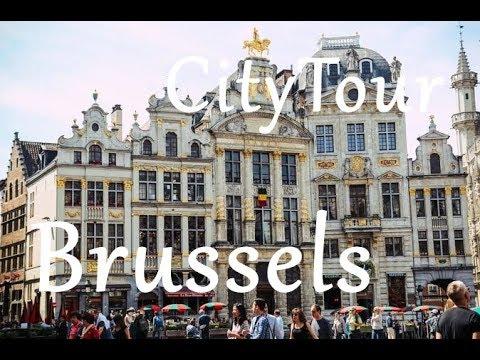 Brussel City Travel Tour - Brussel Şəhərlərin Kicik Tur Gəzintisi - Belçika / Belgium