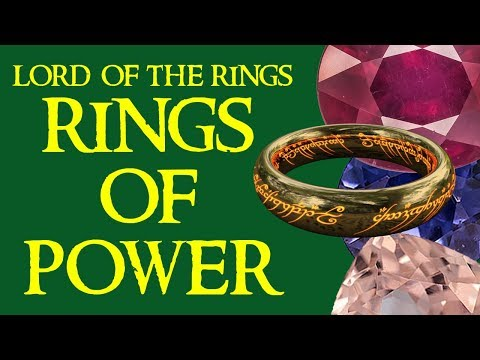 "About the Lord of the Rings ""Rings of Power"""
