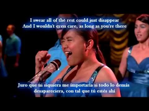 Glee - As long as you're there / Sub spanish with lyrics