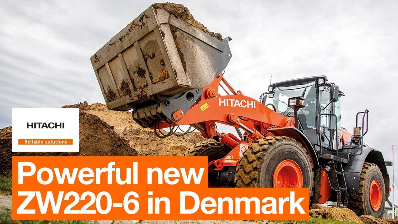 New ZW220-6 proves powerful on Danish job site
