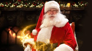 Meet santa claus from his home all the way in north pole a personal 1-on-1 video and greet experience! just you him chatting! your fa...