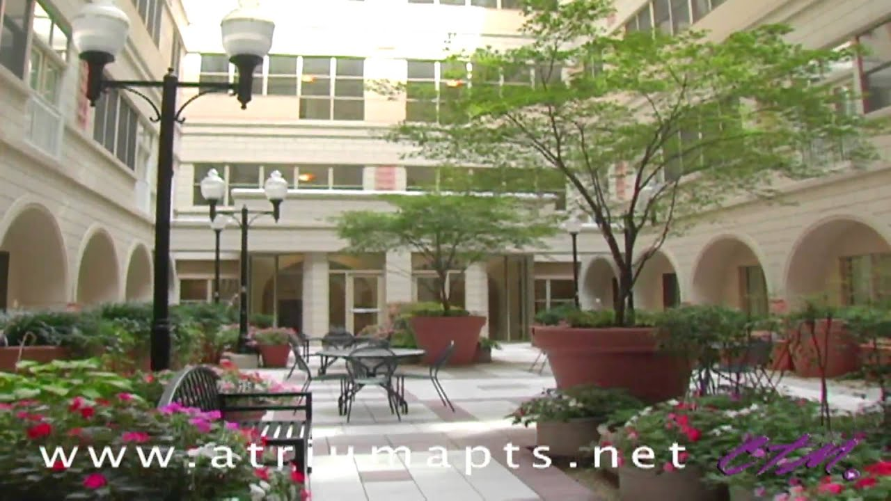 The Atrium At Market Center | Baltimore MD Luxury Apartments | Southern  Management   YouTube